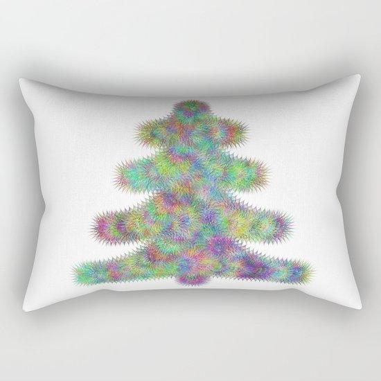 Fractal christmas tree Rectangular Pillow