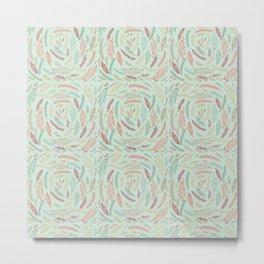 floral tornado Metal Print