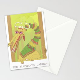The Elephant's Garden - The Perpetual Glibb Stationery Cards