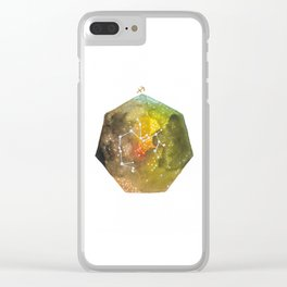 Sagittarius Clear iPhone Case
