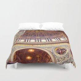 Patterns of Places - Vatican Duvet Cover