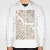 amsterdam Hoodies featuring Amsterdam by Mapsland