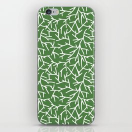 Branches - green iPhone Skin