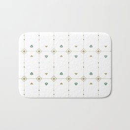 Jazzy Okami Pattern Bath Mat