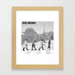 We Are All Rebel Scum Framed Art Print
