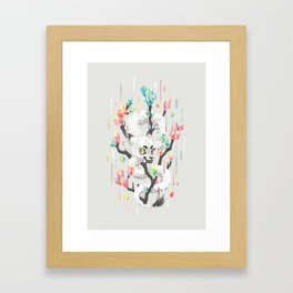 Dragon and His Treasure Framed Art Print