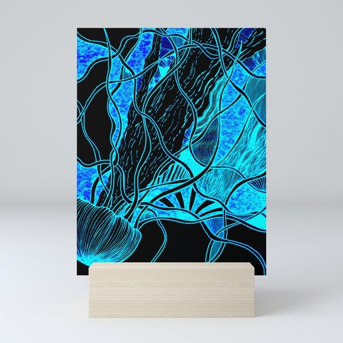 Lava Lamp Aquarium Mini Art Print