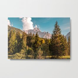 Summer has arrived in the italian alps Metal Print