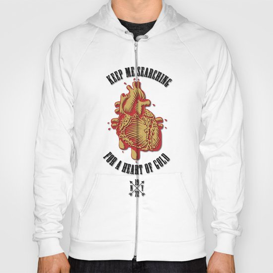 """Heart of Gold""  (""ANALOG zine"") Hoody"