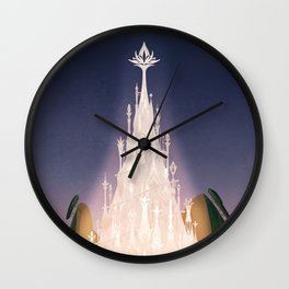 The Ivory Tower Wall Clock