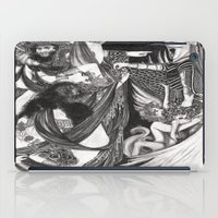 return iPad Cases featuring Perseus' Return by Morgan Fay
