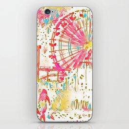 Santa Monica Pier - Art iPhone Skin