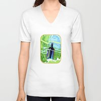underwater V-neck T-shirts featuring Underwater by Patricia Howitt