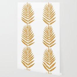 Golden Fern Wallpaper