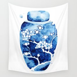 Ginger Jar I Wall Tapestry