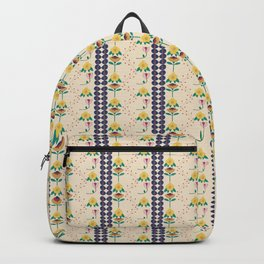 Folk Style Flowers Backpack