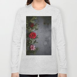 The Red Roses (Color) Long Sleeve T-shirt