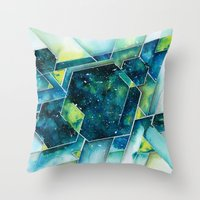 apollo Throw Pillows featuring :: Apollo :: by Antonio Holguin