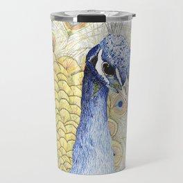 The Peacock Travel Mug