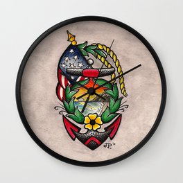 American Dream Wall Clock