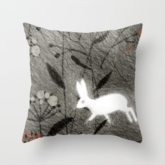 Bouquets IV Throw Pillow