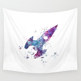 The little ship Wall Tapestry