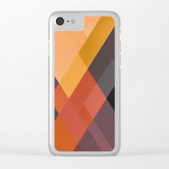 ABSTRACT 05 Clear iPhone Case