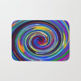 Paint Swirl Bath Mat