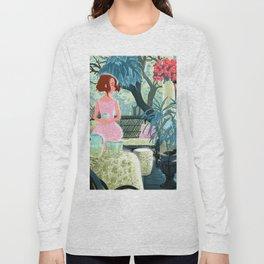 Flowered terrace Long Sleeve T-shirt