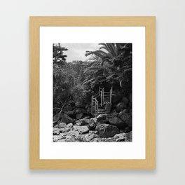 Hidden Staircase Framed Art Print