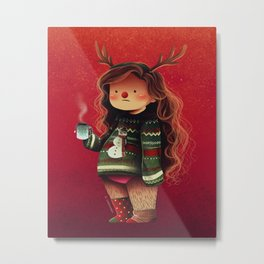 lazy holidays Metal Print