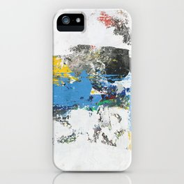 Crow Abstract Art iPhone Case