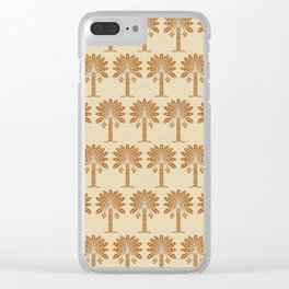 Cinnamon Spice Moods Palm Clear iPhone Case