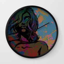 To Be Female Wall Clock