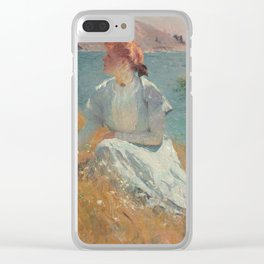 Margaret Gretchen Strong by Frank Weston Benson Clear iPhone Case