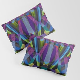 Pentagon Explosion Pillow Sham