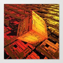 Cube Zer0 Canvas Print