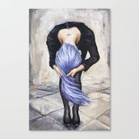 returns Canvas Prints featuring Saturn Returns by Artist Andrea
