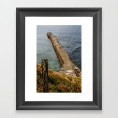 Cross the border Framed Art Print