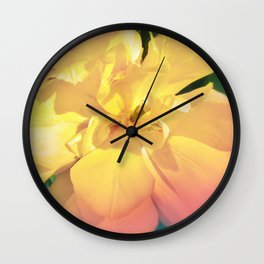 Electric Flower Wall Clock