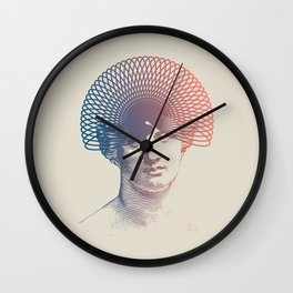 Stay Safe Wall Clock