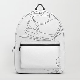 Two Minimal Roses Backpack
