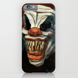 Scary Clown Blue Smoke iPhone Case