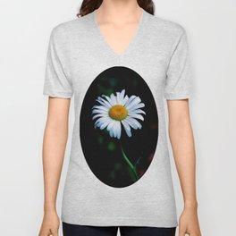 A daisy a day keeps the blues away Unisex V-Neck