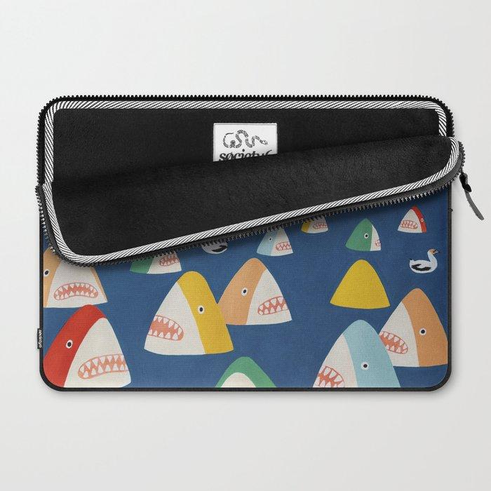 Shark Park Laptop Sleeve