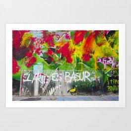 Art is Tra$h Art Print