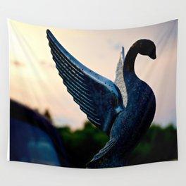 Packard Swan Wall Tapestry