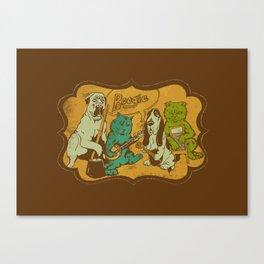 Boogie Canvas Print