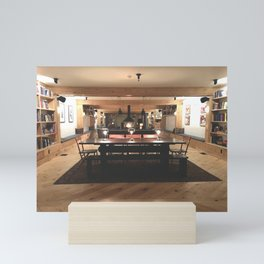 Room in a Cozy Lodge Mini Art Print