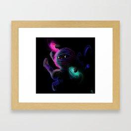 Dark Energy is the best ninja ever! Framed Art Print